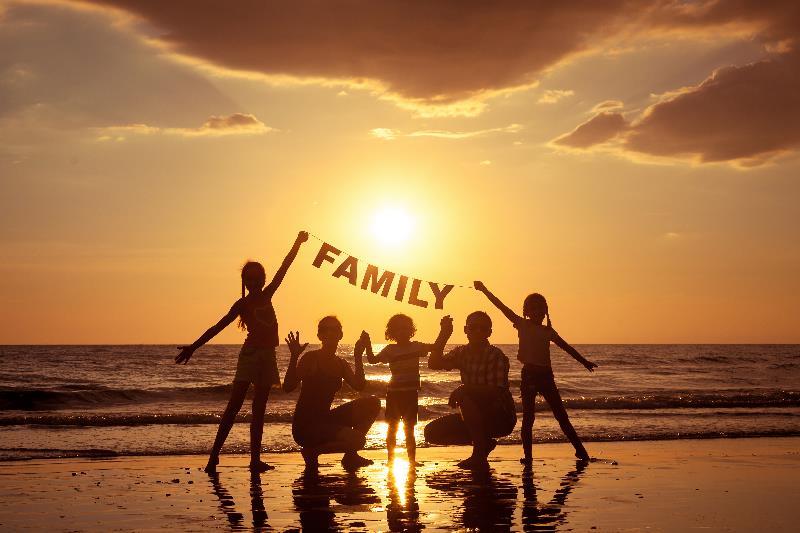 Дружба между детьми и родителями