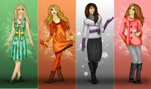 Четыре цветотипа – четыре стиля одежды