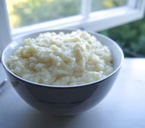 Молочная рисовая каша в мультиварке