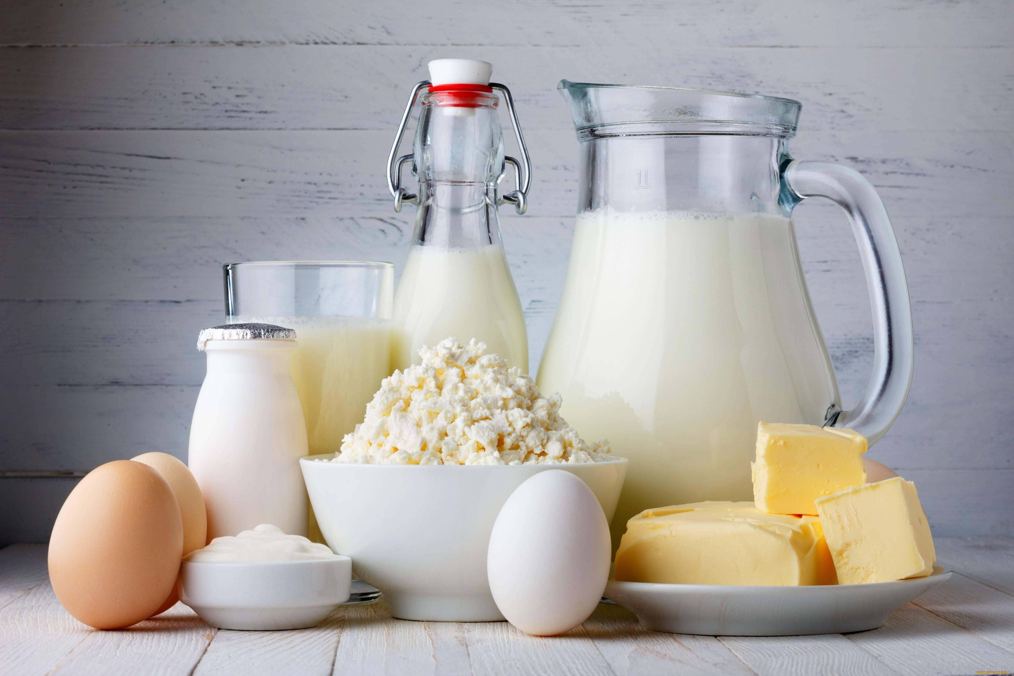 Мифы о молочных продуктах