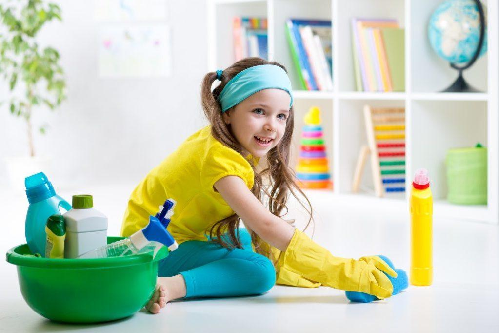 Как научить детей поддерживать порядок?