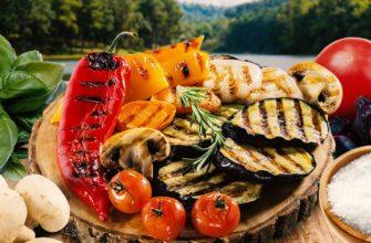 Как готовить овощи на гриле